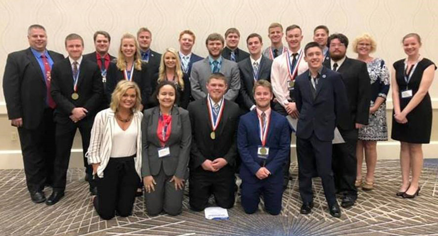 Mayville State Collegiate DECA at international conference.jpg