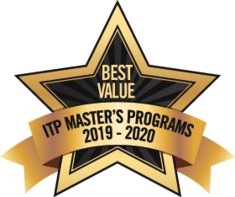 Best Value ITP Master's Programs Badge