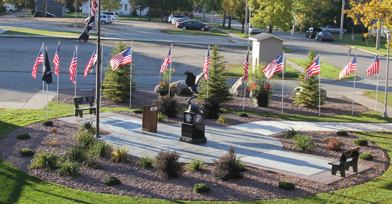 Ceremony of remembrance planned at Military Honor Garden
