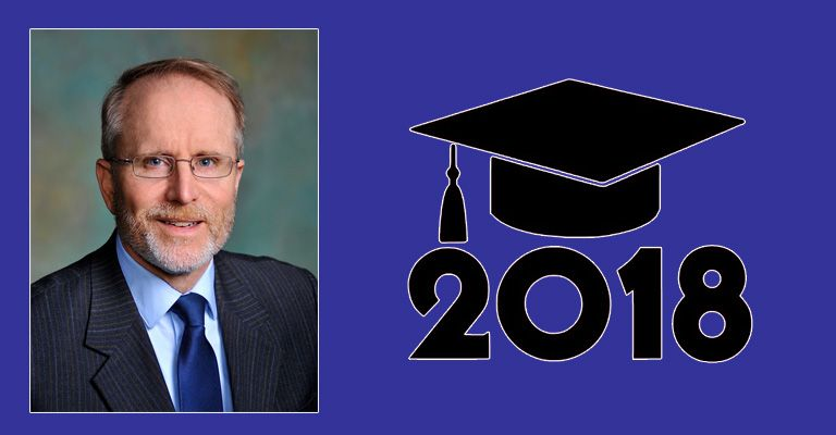 Chancellor Mark Hagerott will deliver the commencement address