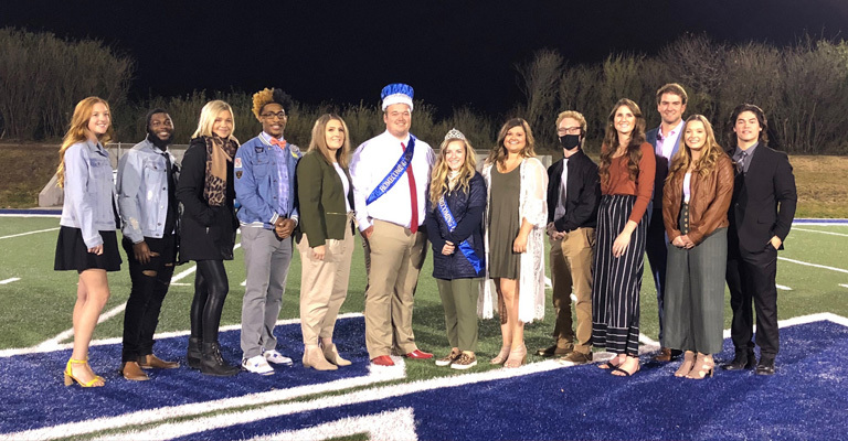 Homecoming 2020 king and queen crowned